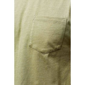 United By Blue Standard Printed Pocket Maillot à manches courtes Homme, olive